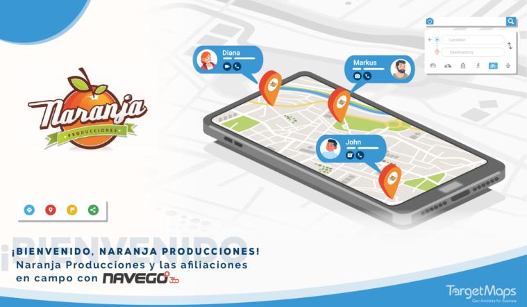 Naranja producciones con Navego 360 - TargetMaps Interbank Tunki